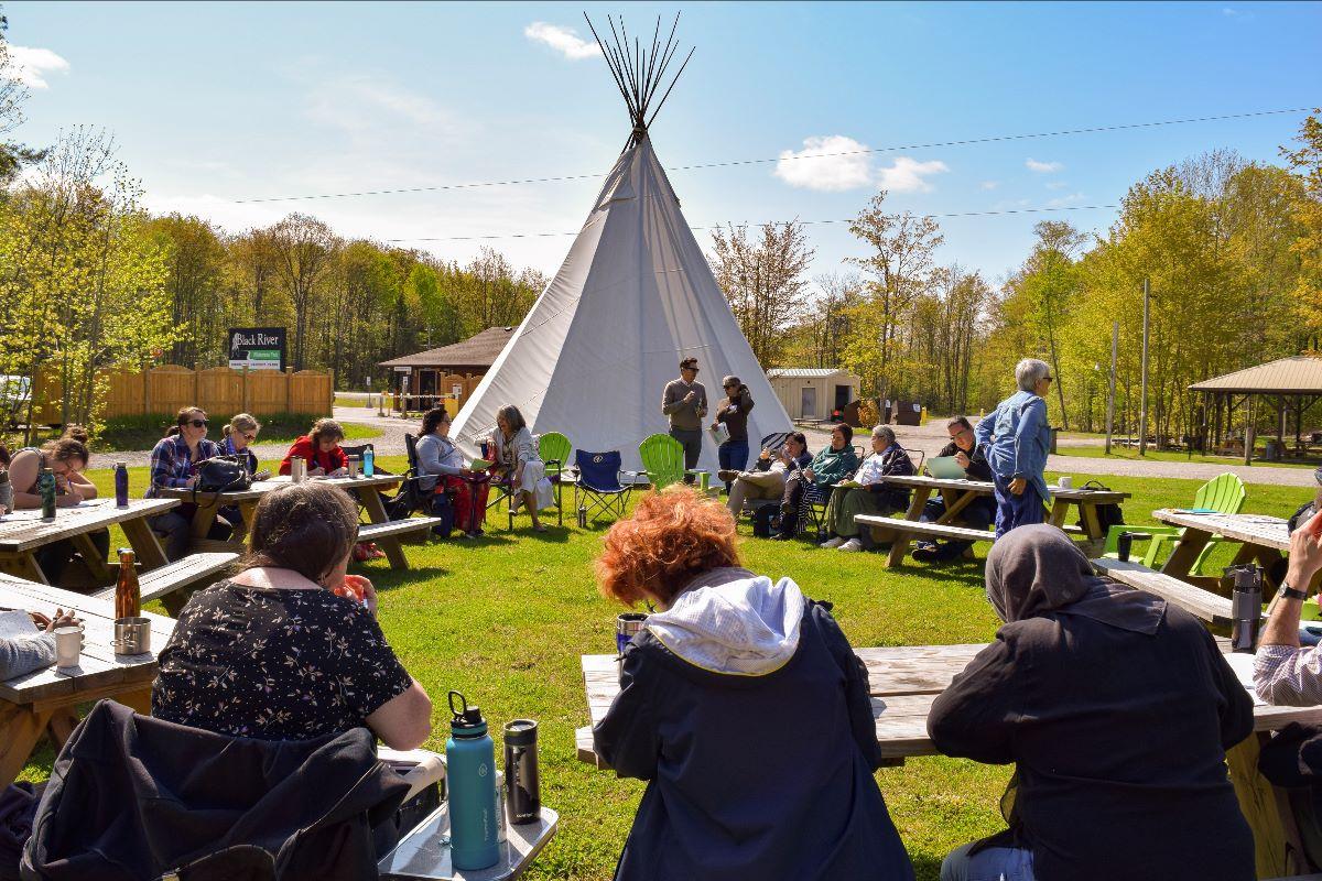 GRASAC Partnership Grant Workshop at Rama First Nation